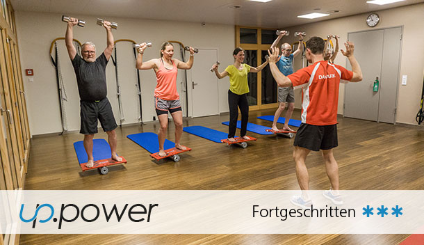 up.power | Sypoba® Gruppentraining mit Faszientraining