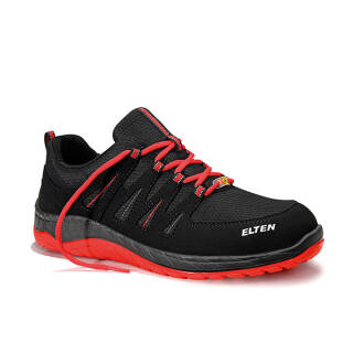 ELTEN WELLMAXX MADDOX black-red Low ESD S3